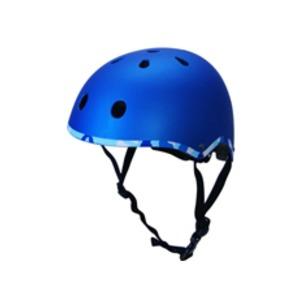 キッズ ジュニア ラウンドヘルメット ブルー