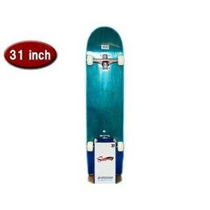カナディアンメープル 31インチ スケートボード ブルー