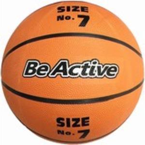 (まとめ)練習用 ゴムバスケットボール 7号【×6球セット】
