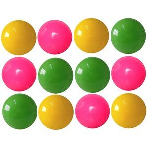 カラーボール 3インチ 12P 色アソート