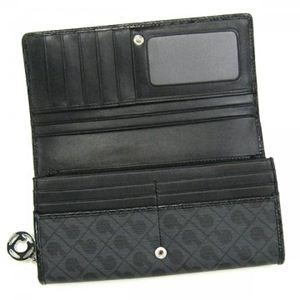 Gherardini(ゲラルディーニ) 長財布 SOFTY BASICO TC05 2 ブラック/グレー H10×W19×D2.5