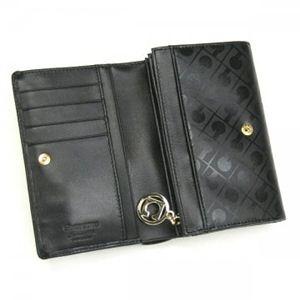 Gherardini(ゲラルディーニ) 二つ折り財布(小銭入れ付) SOFTY BASICO BS12 1 ブラック H9×W14.5×D3