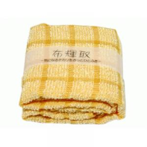 布輝取(タオルハンカチ) オレンジ