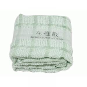 布輝取(タオルハンカチ) うす緑