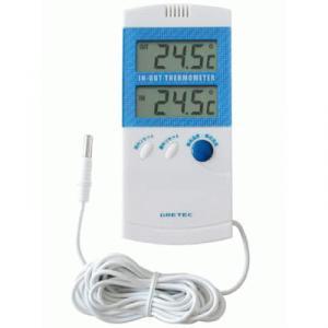 室内室外温度計 O-209BL