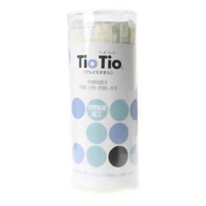 TioTio フェイスタオル ブルー