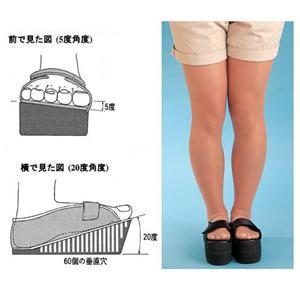 エステシューズ モデル脚