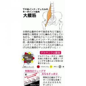 インナーマッスルパンツ 3枚組 ブラック L