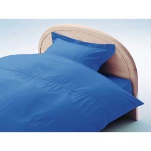 アーミッシュカラー敷フトンカバーシングル ロイヤルブルー 105cm×215cm