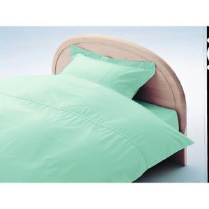 アーミッシュカラーベッド用BOXシーツ ダブル マーメイドブルー 140cm×200cm×27cm