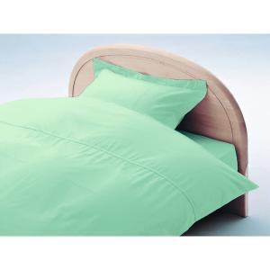アーミッシュカラーベッド用BOXシーツ ダブル パステルグリーン 140cm×200cm×27cm