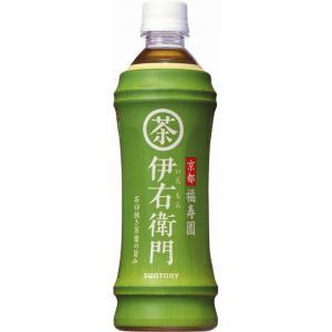 サントリー 緑茶 伊右衛門 ペット 500ml(×24)