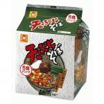 東洋水産 マルちゃん 天ぷらそば 5食パック(×6)