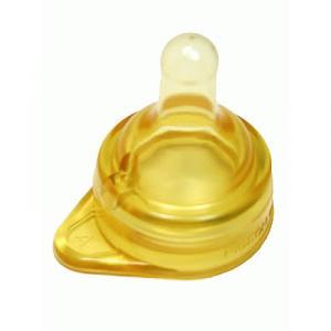 KRほ乳びん用乳首 KR-A型 イソプレンゴム(飴色) 1個 品番B305