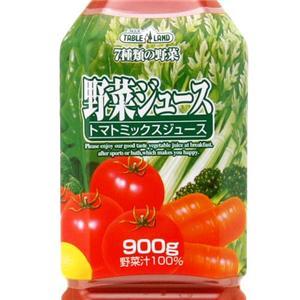 テーブルランド 野菜ジュース たっぷり900gペットボトル 24本入り