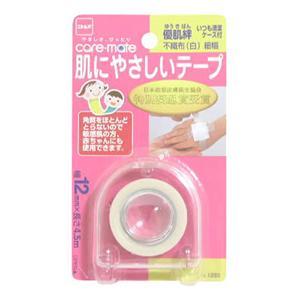 優肌絆 肌にやさしいテープ 不織布(白)  12mm*4.5m