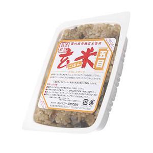 コジマフーズ 有機玄米ごはん(五目) 160g