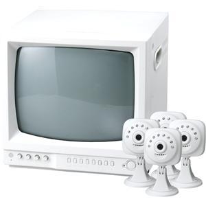 暗視高感度監視カメラMIRUMIRUDX3 テレビモニター&カメラセット
