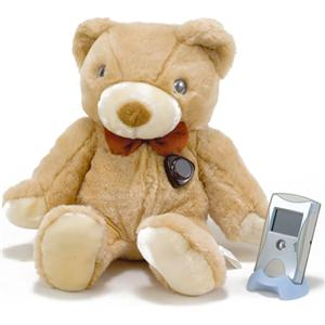 Teddycam 赤外線暗視高感度集音機能付カメラ&1.8インチワイヤレスカラー液晶モニターシステム Teddycam 2