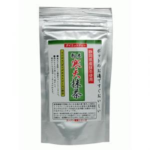 粉末寒天 抹茶(寒天茶) 100g