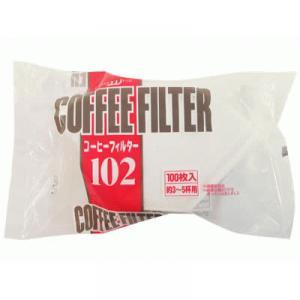 酸素漂白コーヒーフィルター 3-5杯用 100枚入