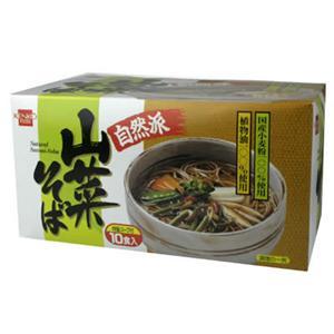 健康フーズ 山菜そば 90g*10袋