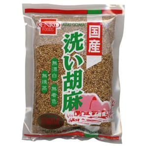 健康フーズ 国産 洗い胡麻(金) 100g