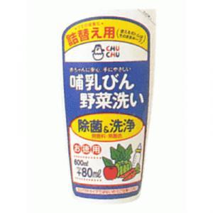 チュチュパンダ 哺乳びん野菜洗い (詰替え)