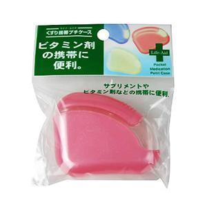 くすり携帯プチケース ピンク
