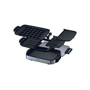 象印 ホットプレート やきやき三昧  EA-ES65-XL(ステンレスグレー)