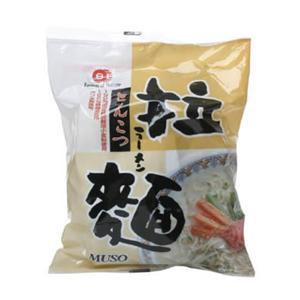 ムソー 拉麺(ラーメン) とんこつ 104g