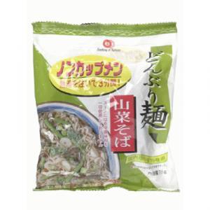 ムソー どんぶり麺 山菜そば 78g