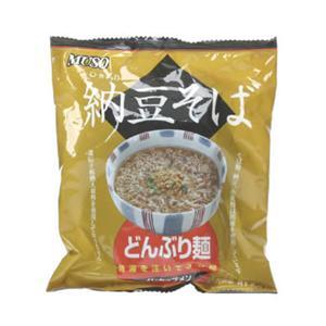 ムソー どんぶり麺 納豆そば 81.5g