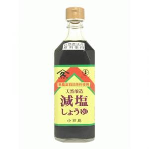 ヤマヒサ 減塩醤油 500ml