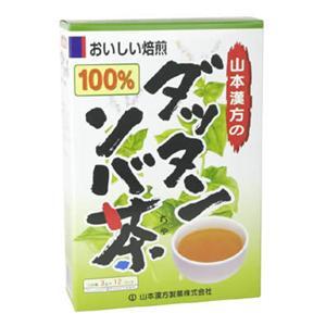 山本漢方の100%ダッタンソバ茶 3g*12袋