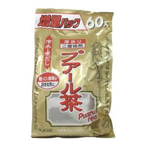 お徳用プアール茶(袋入) 5g*60包