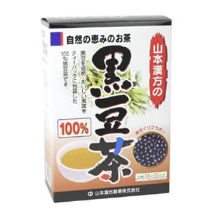 山本漢方の100%黒豆茶 10g*30袋