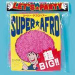 超BIG! スーパーアフロ ピンク