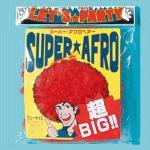 超BIG! スーパーアフロ レッド