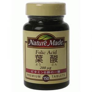 ネイチャーメイド 葉酸(葉酸200μg配合)