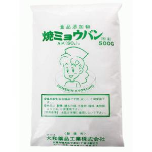 ダイワ 焼ミョウバン (粉末) 500g