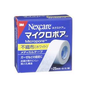 マイクロポア メディカルテープ不織布ホワイト25mm*9.1m