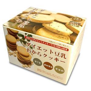 ダイエット豆乳おからクッキーB 1箱+コントレックス1.5L 1本付き