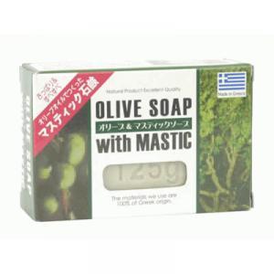 ギリシャの石鹸 オリーブ&マスティックソープ